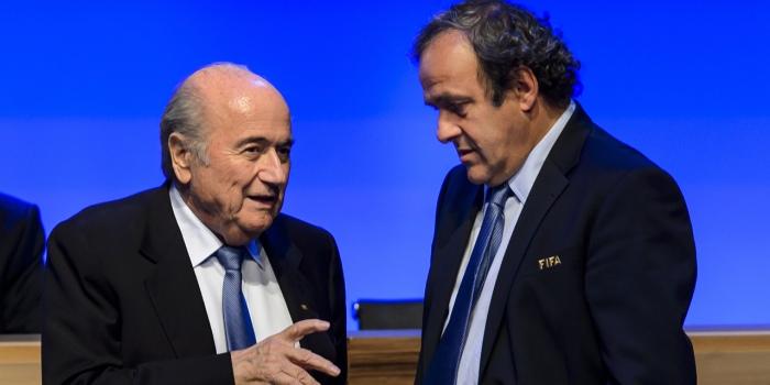 Fifa-Sepp-Blatter-et-Michel-Platini-dans-la-tourmente